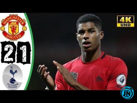 Manchester United vs Tottenham Hotspur 2-1 – All Goals & Highlights